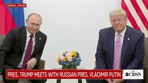 """Trump playfully tells Putin, """"don't meddle in the election"""""""