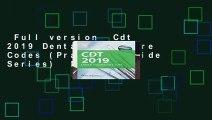 Full version  Cdt 2019 Dental Procedure Codes (Practical Guide Series)  For Kindle