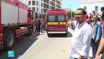 تفجيران انتحاريان في تونس