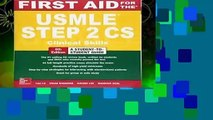 Trial New Releases  First Aid for the USMLE Step 2 CS, Sixth Edition by Tao Le