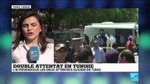"""Double attentat en Tunisie : """"l'identité d'un des kamikazes aurait été identifié"""""""