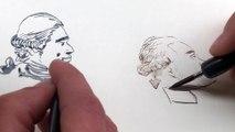 """Comment dessiner """"Révolution"""", la leçon de dessin de Locard et Grouazel"""