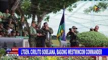 LtGen. Cirilito Sobejana, bagong WestMinCom Commander