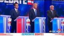 Democratic candidates get personal in second debate