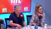 Dominique Besnehard et Pascale Arbillot dans A La Bonne Heure !