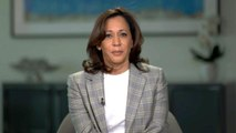 "Kamala Harris on claims of low blow shot at Biden's record: ""Just speaking truth"""