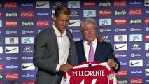 Atletico Madrid present midfielder Marcos Llorente following move from Real