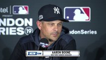 Yankees-Red Sox London Series Press Conferences