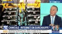 Canicule: Internet en surchauffe ?