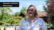 Berlin allotment holders dig in against property developers