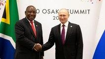 South Africa's Ramaphosa meets Putin at G20