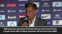 (Subtitled) Simeone a major factor in Marcos Llorente's decision to sign for Atletico