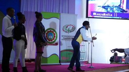2nd Intergenerational dialogue forum - Nyambane