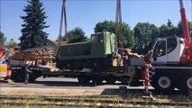 Une nouvelle locomotive pour le vélo-rail de Dunières