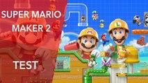 Test Super Mario Maker 2 en vidéo