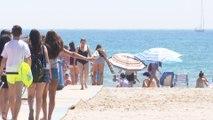 València eleva su temperatura por la llegada de la ola de calor