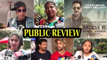 Public Review | Article 15 | Ayushmann starrer hard-hitting crime drama