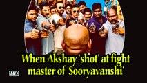 When Akshay 'shot' at fight master of 'Sooryavanshi'