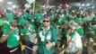 رقص واحتفال جمهور نيجيريا ومدغشقر بعد صعودهم لـ دور الـ16 بأمم إفريقيا