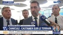 """Canicule: Christophe Castaner appelle à être """"responsable"""" face à la chaleur"""