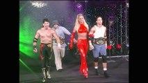 Eddie Guerrero, Billy Kidman & Torrie vs. Dean Malenko, Perry Saturn & Asya