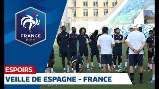 Espoirs  veille de Espagne-France I FFF 2019