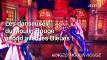 """Mondial-2019: les danseuses du """"Moulin Rouge"""" avec les Bleues !"""