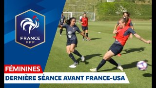 France-Etats-Unis Féminine  concentration avant le quart de finale I FFF 2019