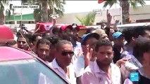 Émotion à Tunis, aux funérailles du policier tué lors des attaques