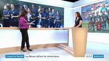 Coupe du monde : les Bleues affrontent les Américaines
