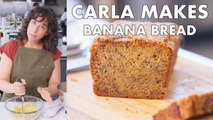Carla Makes Banana Bread