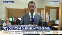 """Canicule: Christophe Castaner avance """"un risque élevé d'incendies"""" dans le Gard"""