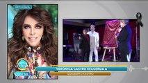 Platicamos con verónica Castro sobre el fallecimiento de Gualberto Castro. | Venga La Alegría