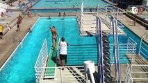 Piscine de Saint-Egrève, biathlon, et foot freestyle - 28 JUIN 2019
