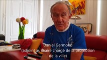 Daniel Germond et le Tour de France à Dole en 2022