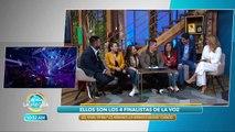 Los finalistas de La Voz visitaron VLA para contarnos su experiencia. | Venga La Alegría