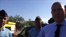 La sécurisation se renforce sur l'aire d'autoroute de Montélimar
