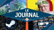 SOLDES STEAM : Un danger pour les développeurs ?    LE JOURNAL #27