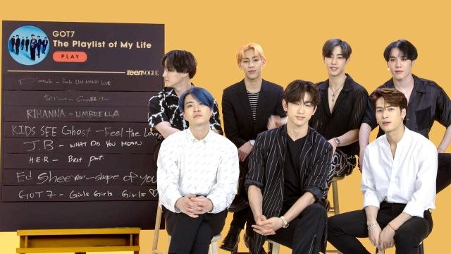 GOT7 Creates The Playlist of Their Lives