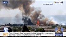 Plusieurs départs de feu liés aux fortes chaleurs ont eu lieu dans le Gard