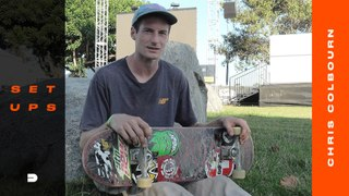 """Chris """"Cookie"""" Colbourn Gives us the Ingredients to his Skateboard Gear"""