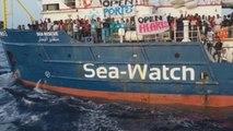 Tensión a bordo del Seawatch mientras espera poder desembarcar a los rescatados
