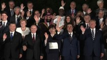 La foto di gruppo al G20 di Osaka: Trump, Putin, Xi e Bin Salman