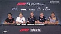F1 2019 Austrian GP - Friday (Team Principals) Press Conference