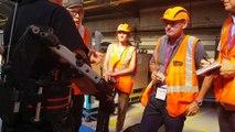 DNA - La SNCF teste un exosquelette multi-fonctions au technicentre de Bischeim