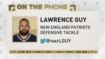 The Jim Rome Show: Lawrence Guy talks receiving Super Bowl rings