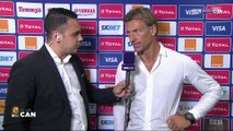 """CAN 2019 - Maroc / Hervé Renard : """"Merci à ceux qui nous tapent dessus"""""""