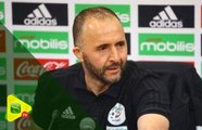 """Djamel Belmadi : """"Ça fait plusieurs mois qu'on préparait ce match face au Sénégal"""""""