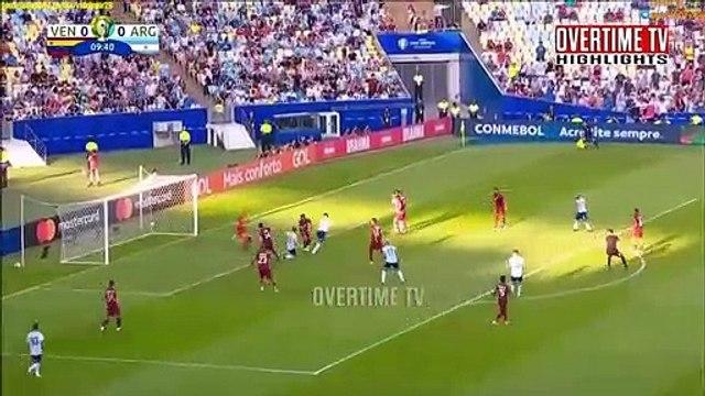Argentina 1-0 Venezuela - Lautaro goal