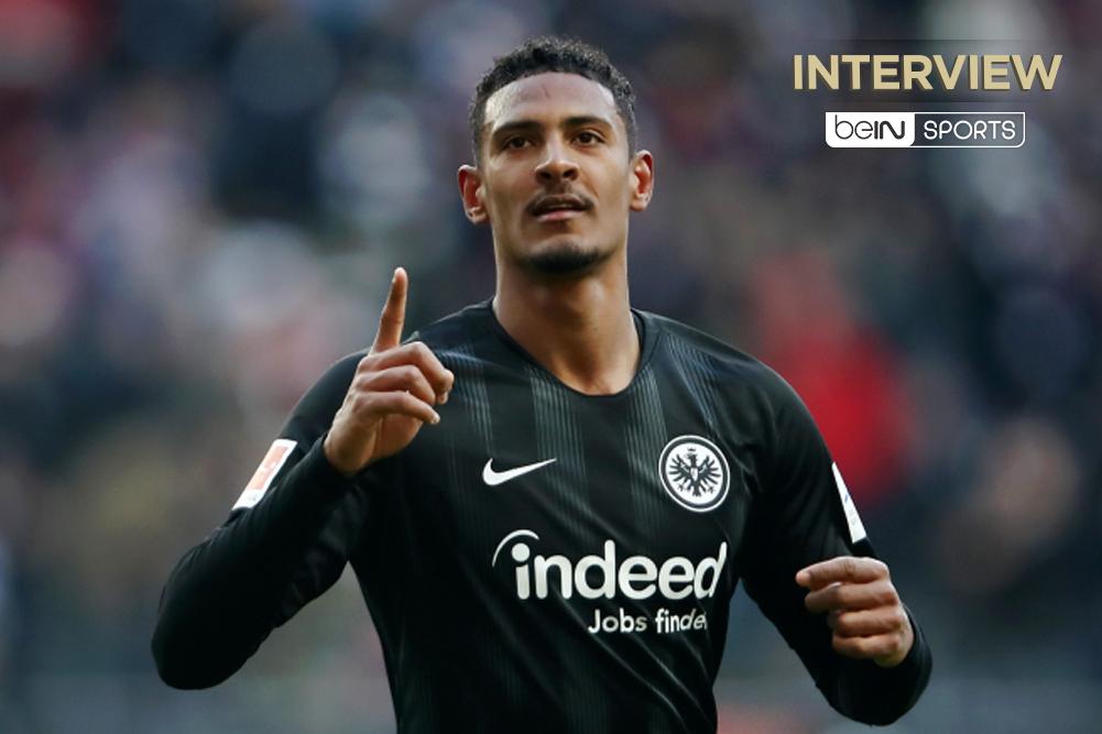 """Eintracht Francfort / Sébastien Haller : """"Jovic ? Je ne me suis pas trompé !"""""""